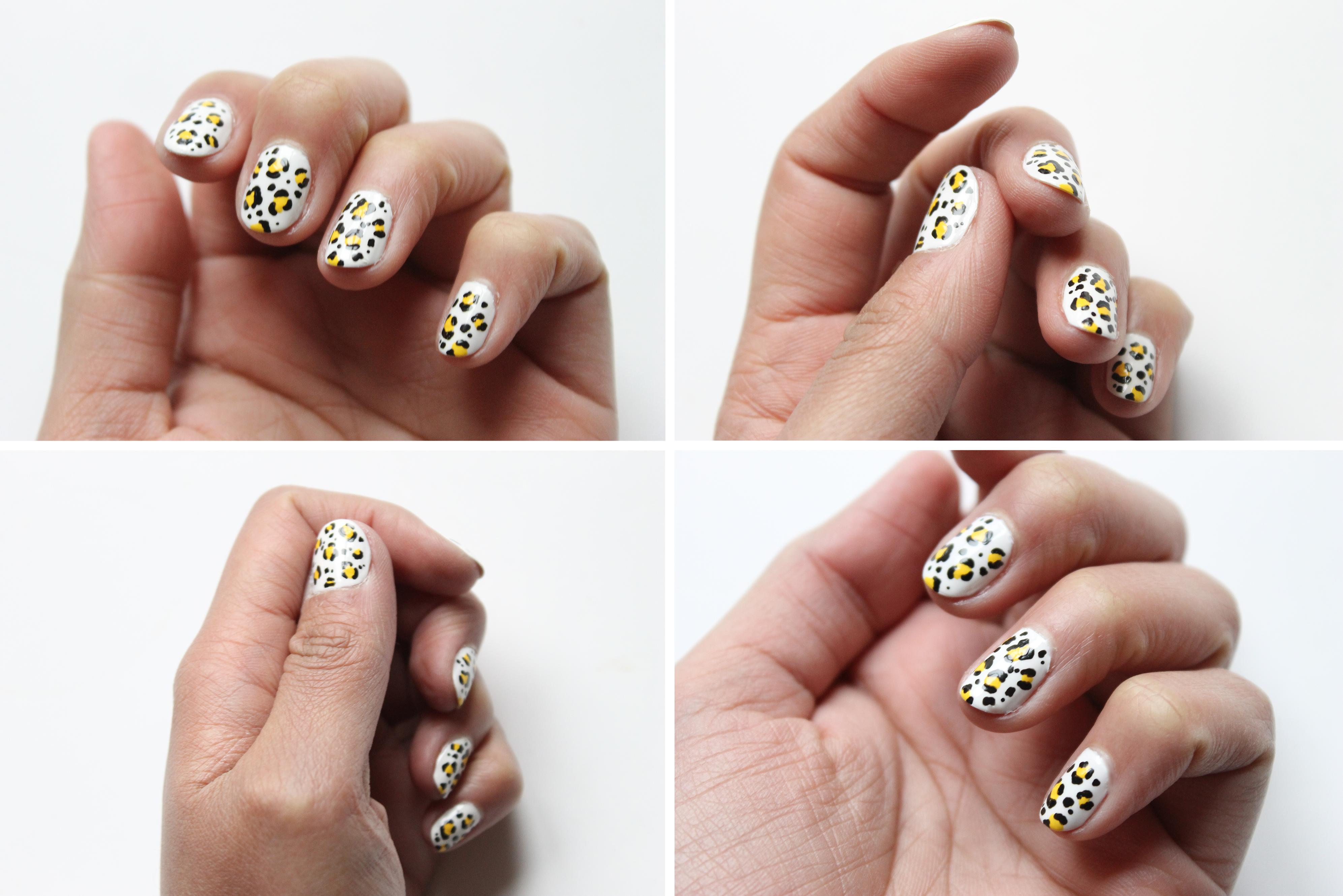 nail art leopard-2