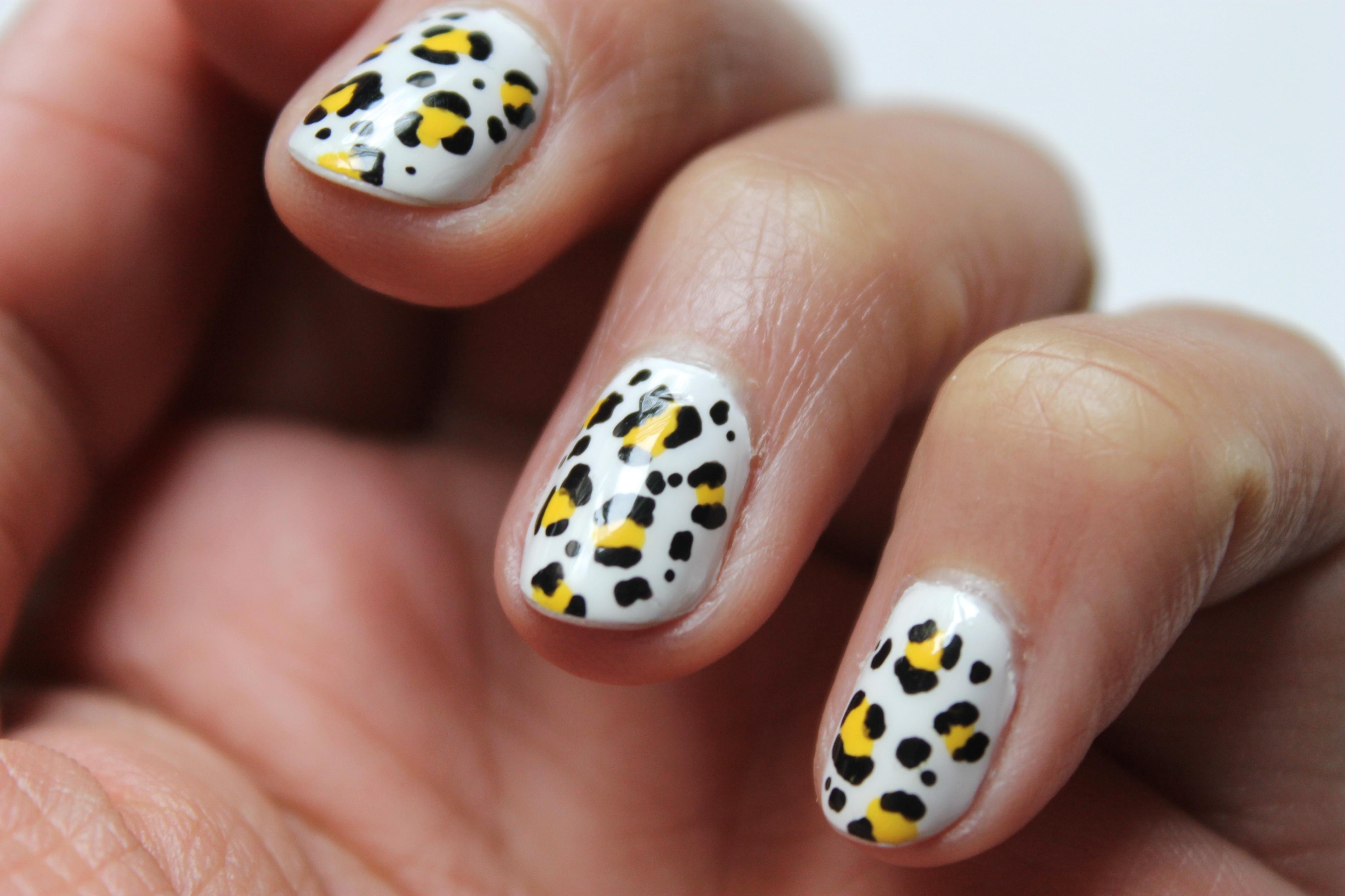 nail art leopard-5