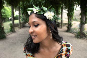 Robe-tie-dye-sheinside-couronne-de-fleurs-boucles-doreille-my-little-fantaisie-1