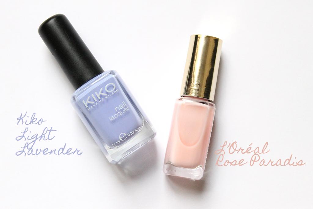 vernis-kiko-light-lavender-vernis-loreal-rose-paradis