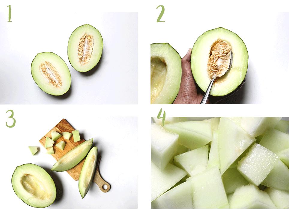 couper-melon-en-cubes