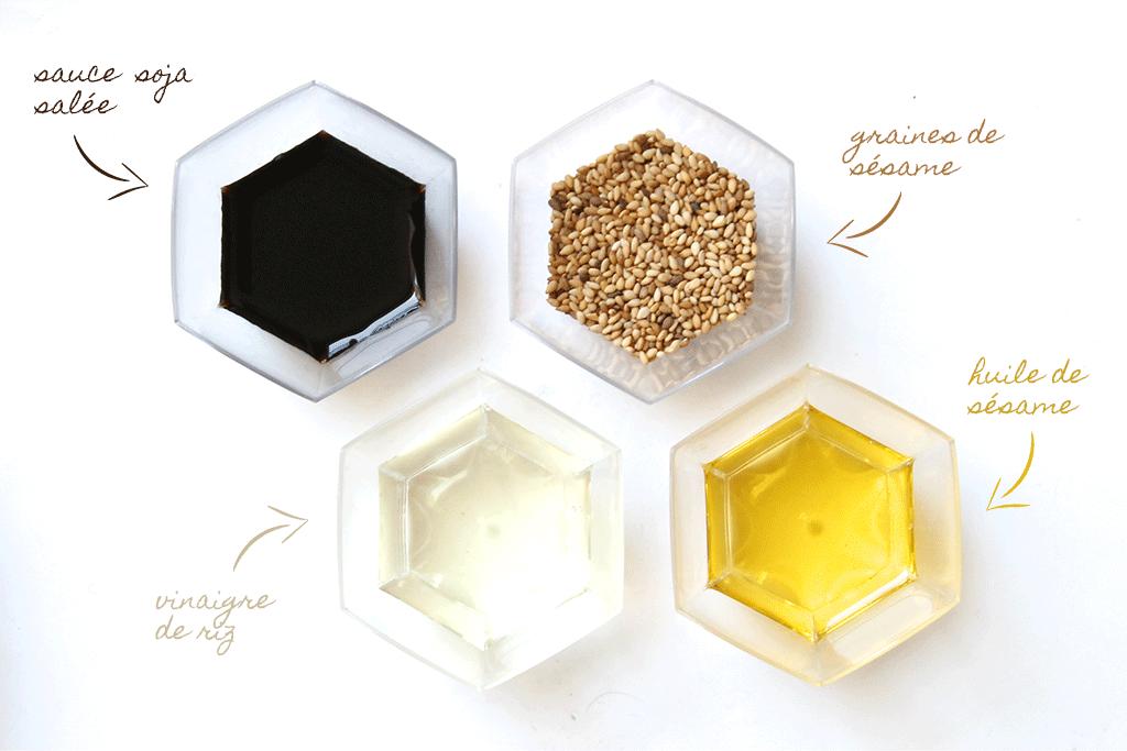 marinade-vinaigre-riz-sauce-soja-huile-sesame