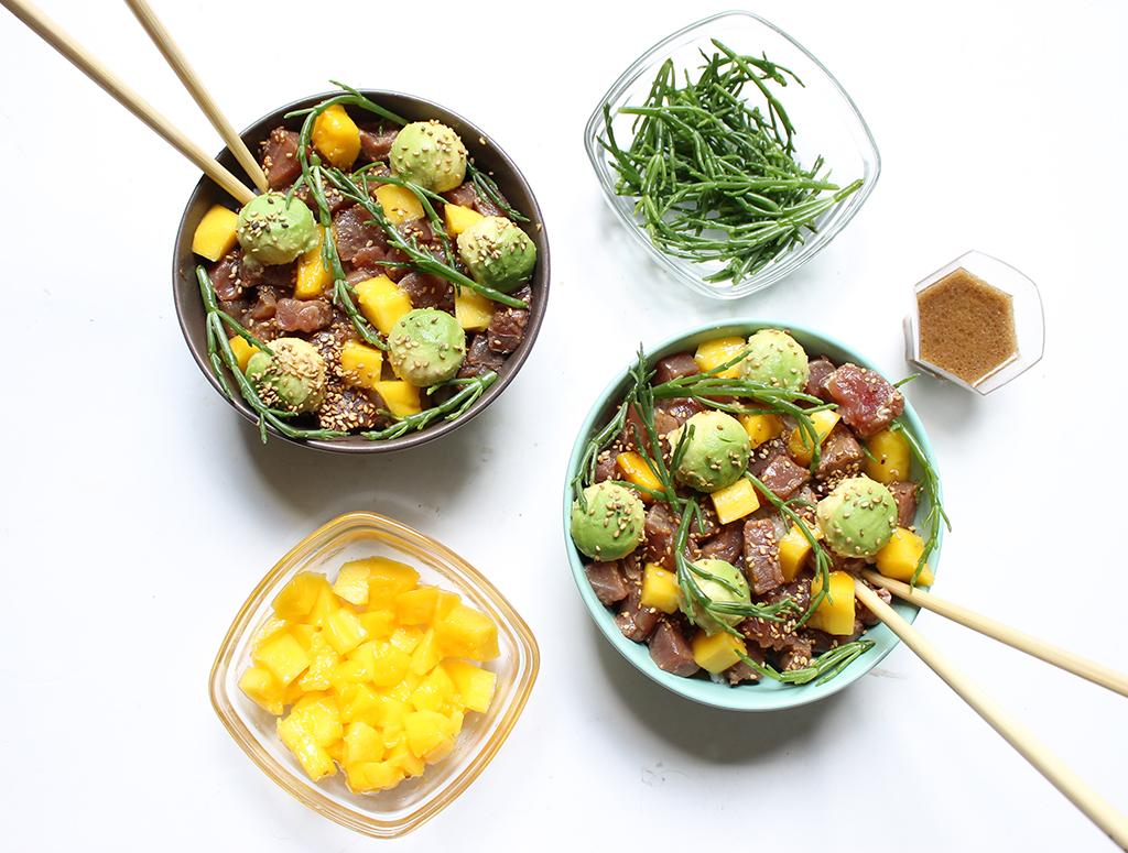 poke-bowl-thon-avocat-mangue-salicornes-5