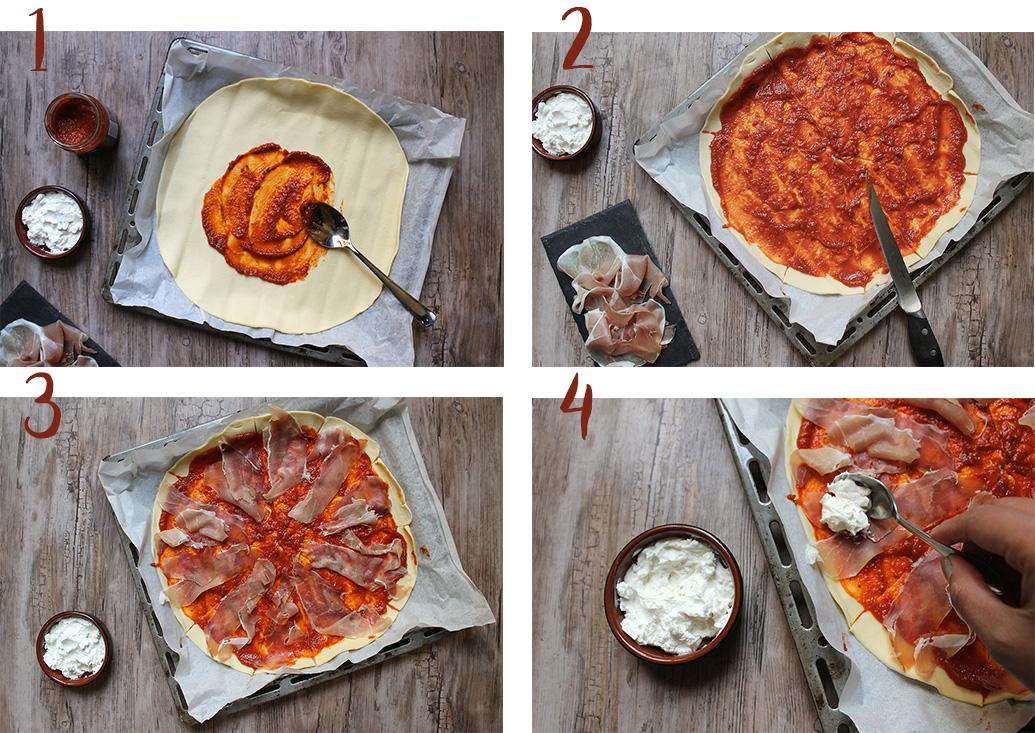 etape-1-sauce-tomate-jambon-chevre