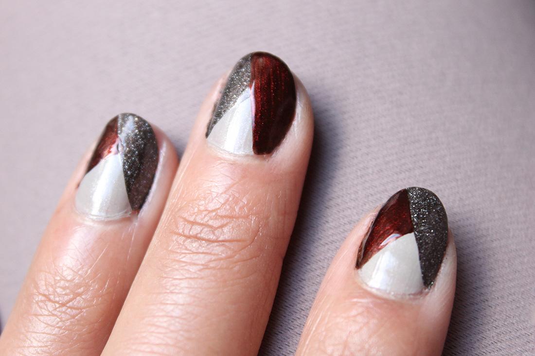 nail-art-graphique-tricolore-1