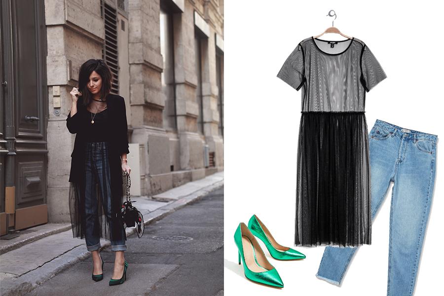 look-robe-tulle-noire
