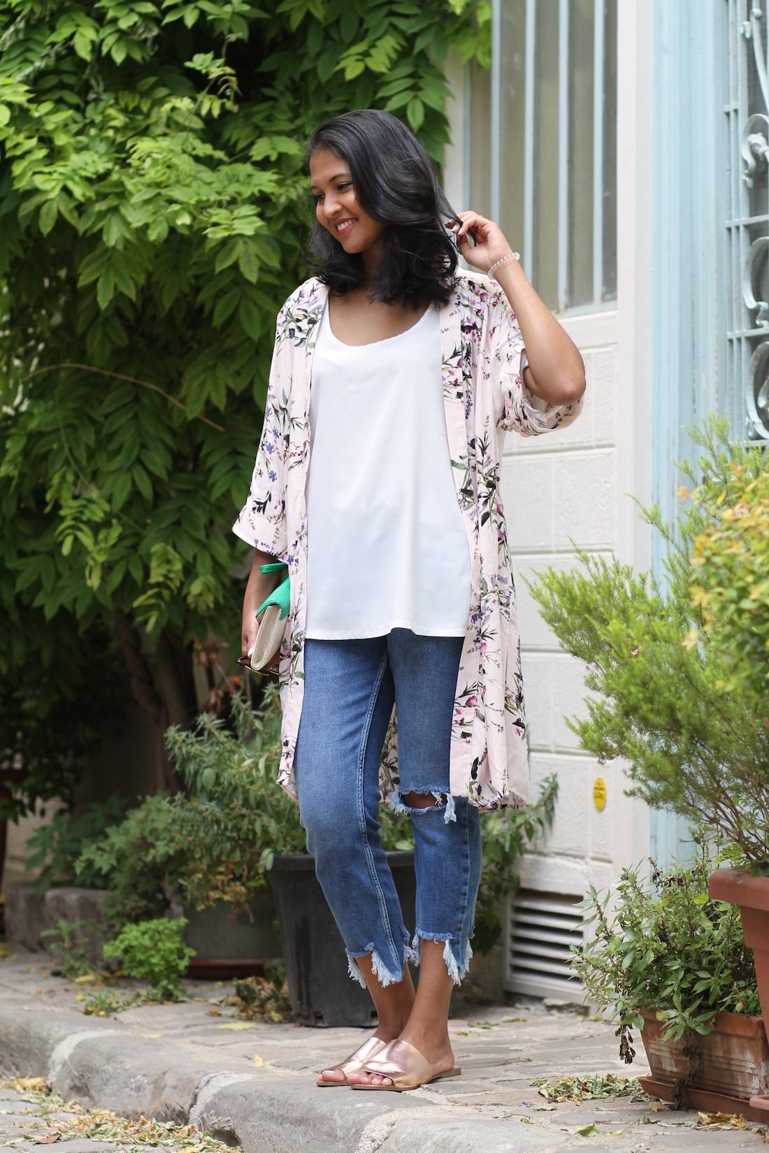look-kimono-jean-frange-mules-new-look-1