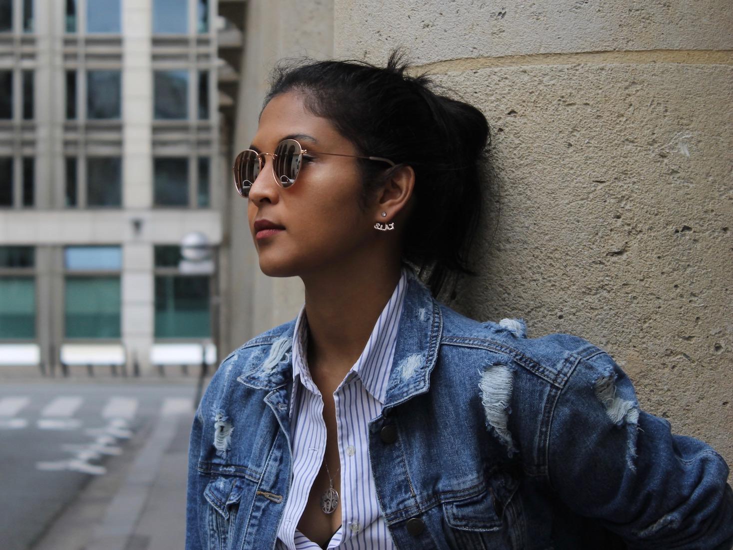 lunettes-miroir-veste-en-jean