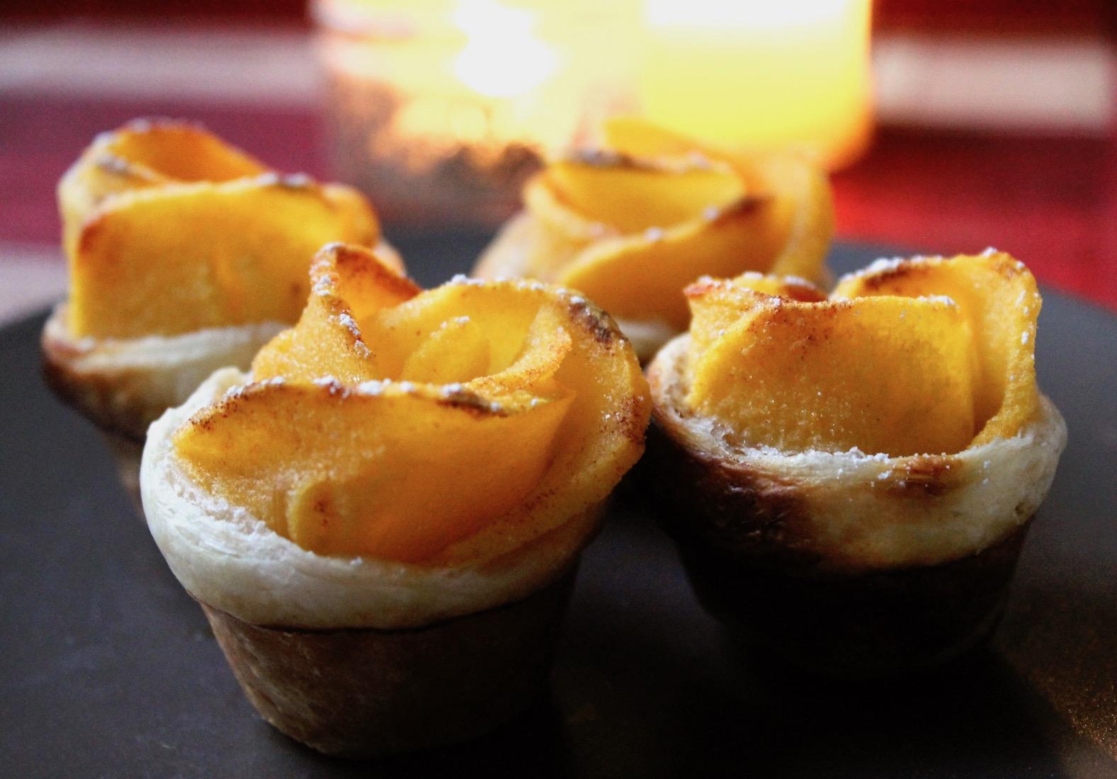 recette-tartelettes-roses-kaki