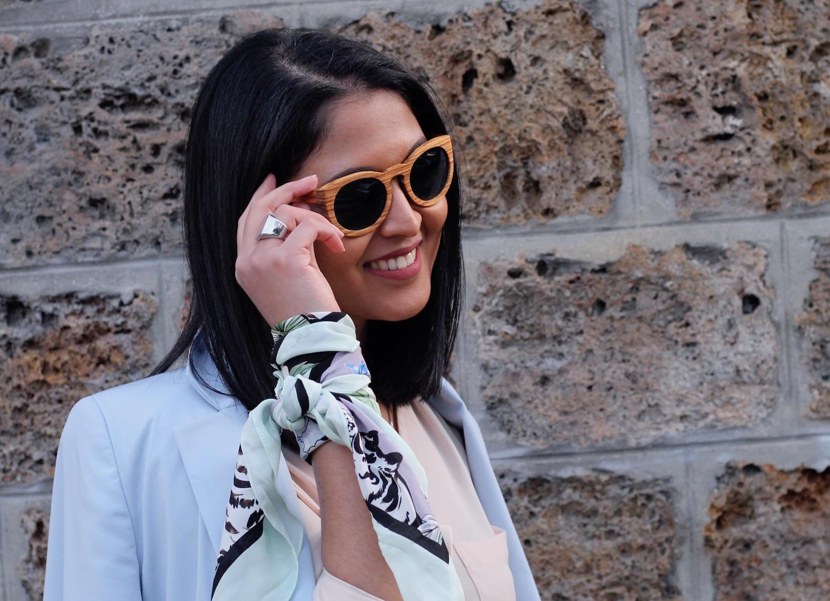 chaussures classiques profitez de la livraison gratuite style unique La tendance foulard : 5 façons de l'adopter - The Miscellanista